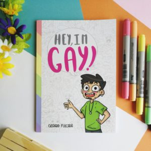 còmic d'humor Hey, I'm Gay!